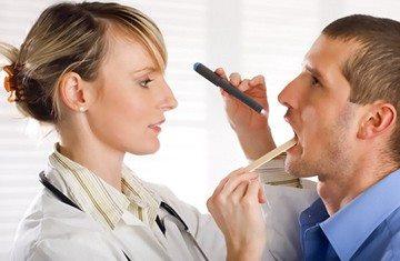обстеження порожнини рота