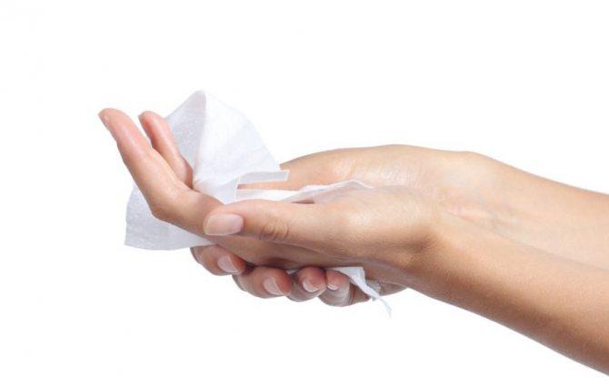 Очищення рук від запаху