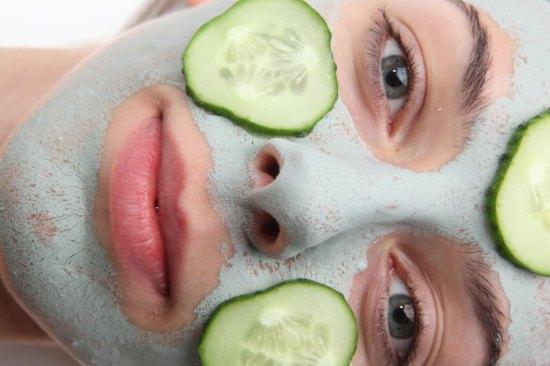 Огіркова маска