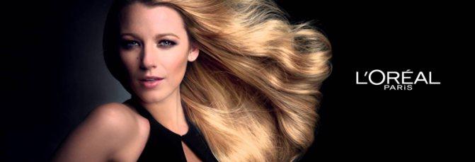 Фарбування волосся фарбою Лореаль