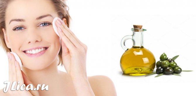 Оливкова олія від зморшок маски для обличчя