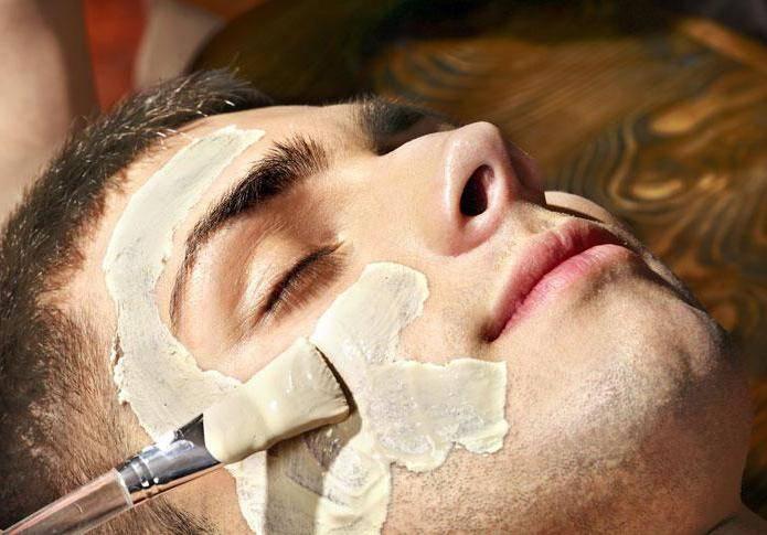 омолодити шкіру обличчя чоловіка
