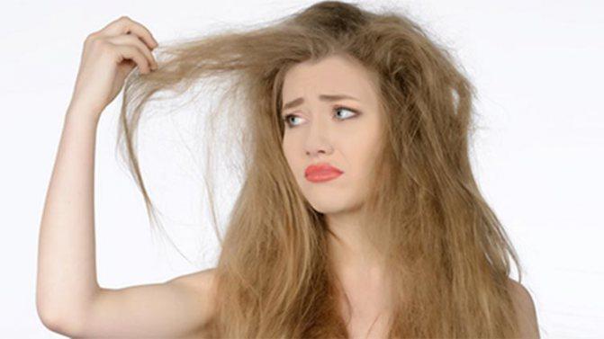 ослаблення волосся