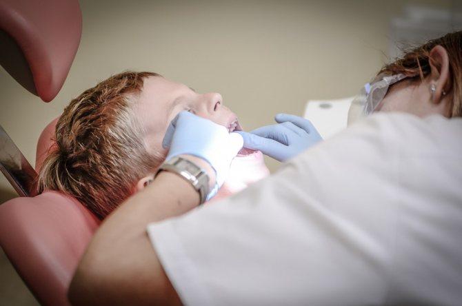 Огляд у стоматолога