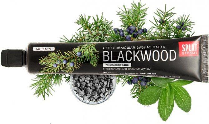 відбілююча паста blackwood