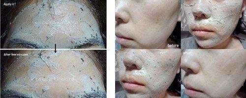 Відбілюючі маски з білої глини