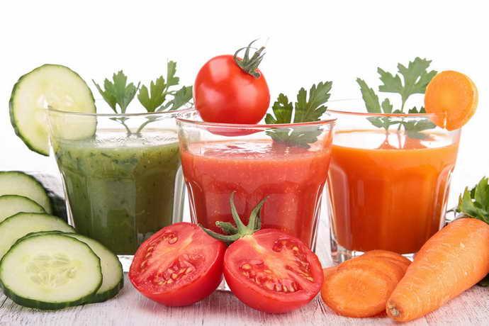 Овочеві соки від стоматиту