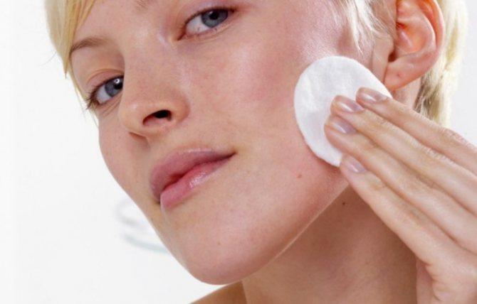 пілінг для сухої шкіри будинку до і після