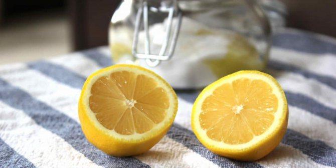 Пілінг з лимоном