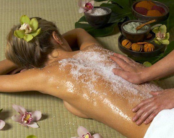 Пілінг тіла сіллю - популярна спа-процедура