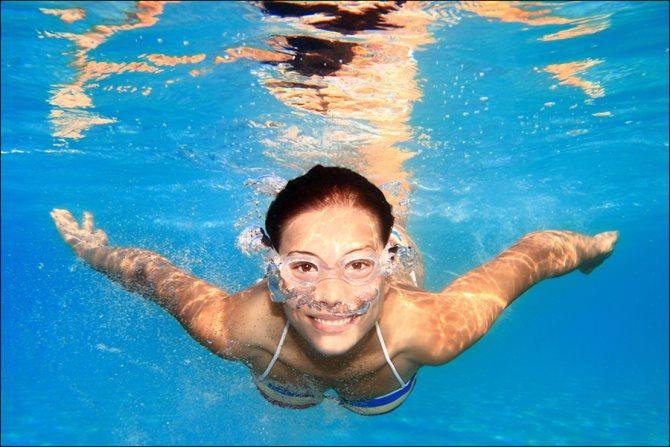 Плавання - найкращий спосіб профілактики і лікування цієї недуги