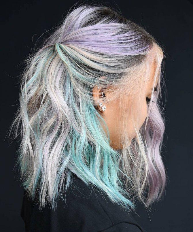 Фарбування волосся басмою сивого волосся