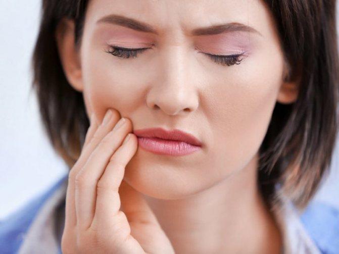 Полоскання рота при зубному болю