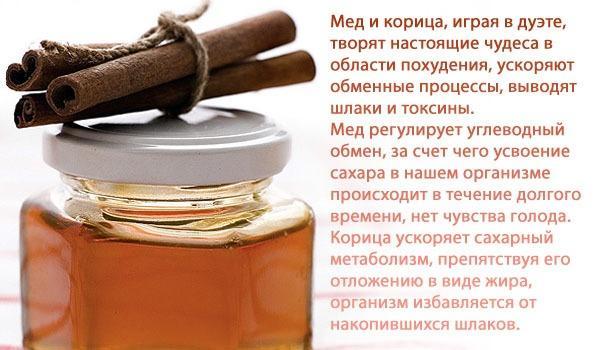 Користь медового обгортання з корицею