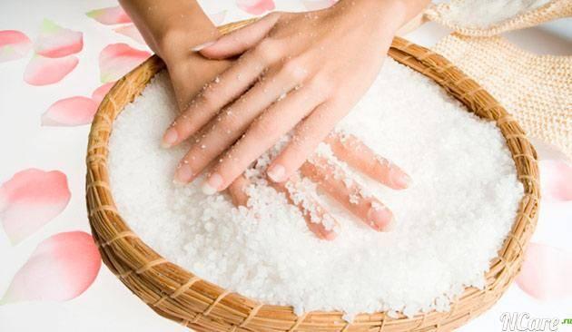 користь солі для шкіри