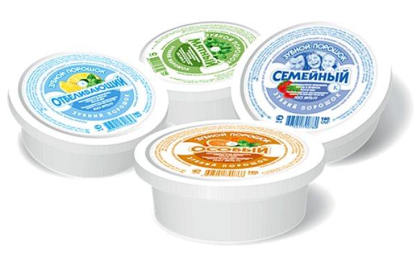 Популярні марки відбілюючих зубних порошків