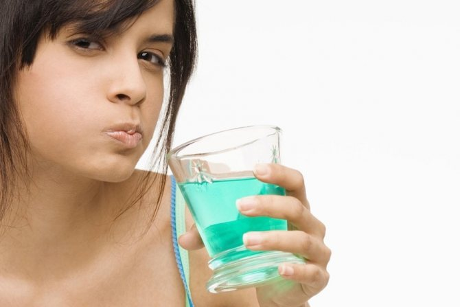 Правильна чистка і полоскання рота