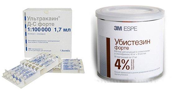 Препарати для інфільтраційної анестезії