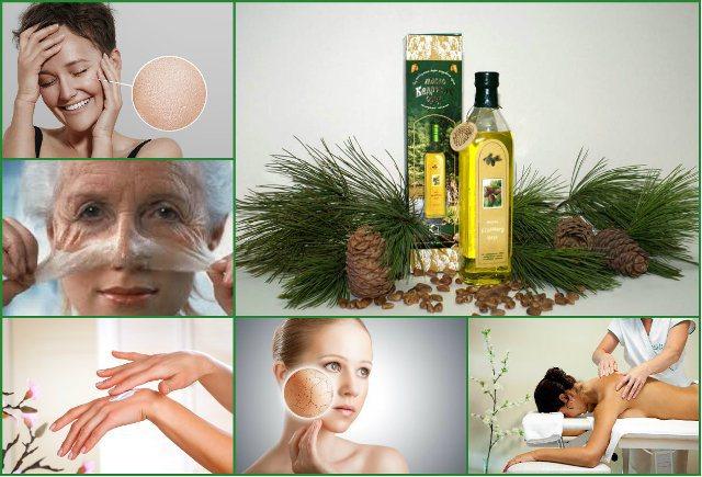 Застосування кедрового масла в косметології в домашніх умовах