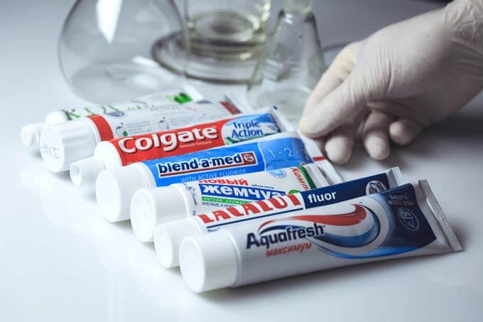 Різноманітність зубних паст