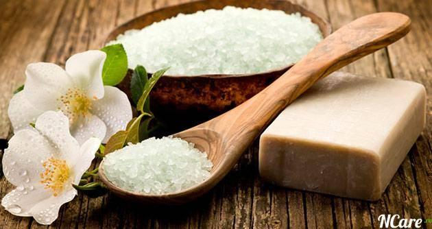 рецепти сольового скрабу