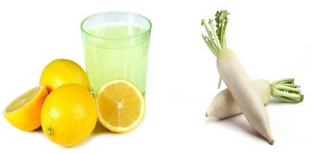 Редька і сік лимона допоможуть в боротьбі з недугою