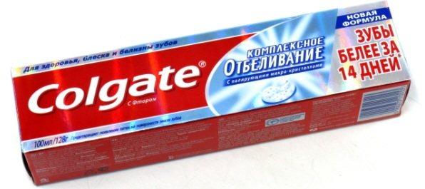 Реклама зубної пасти Колгейт