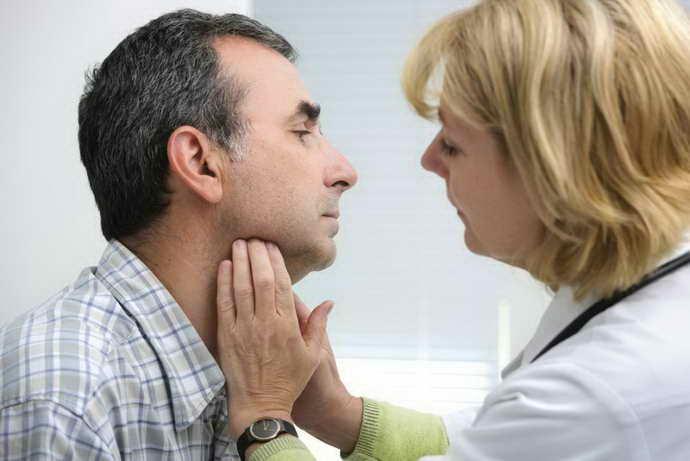Симптоматика запалення привушної залози