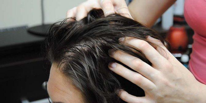 Сольовий пілінг для волосся