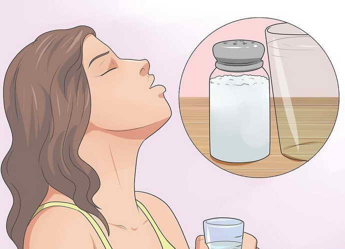 сольовий розчин від болю зубів з брекетами