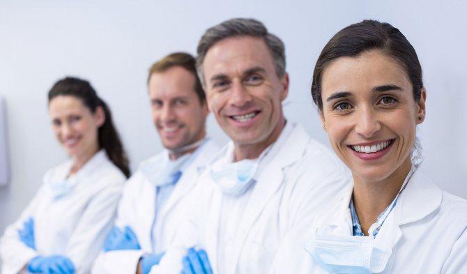 стоматологічні професії