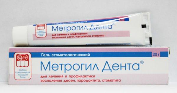 Стоматологічний гель Метрогіл Дента