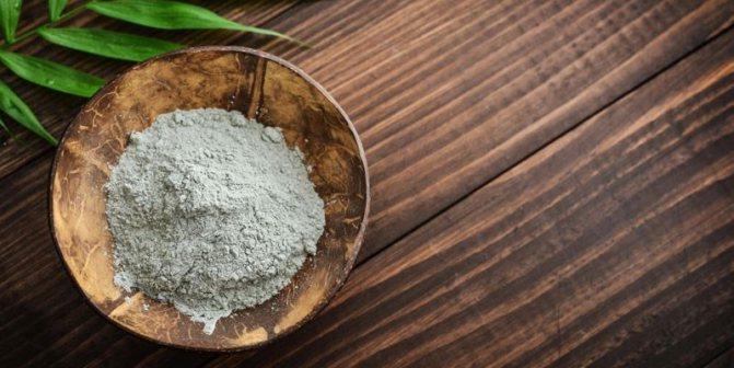 Суха блакитна глина