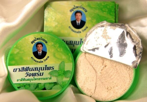 властивості зубних паст з таїланду