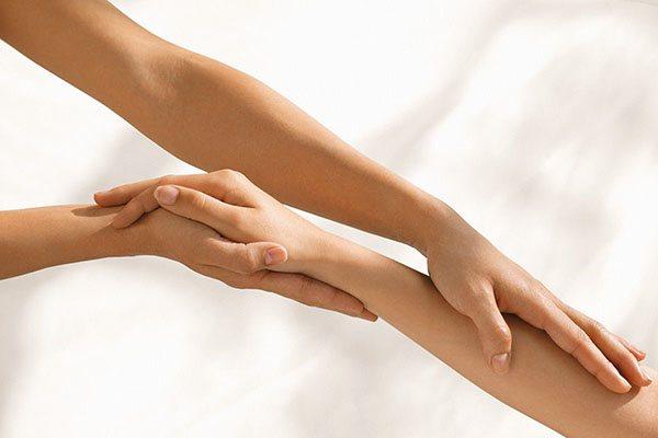 техніка масажу при лімфостаз