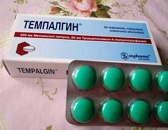 Темпалгин продається в аптеках без рецепта лікаря.
