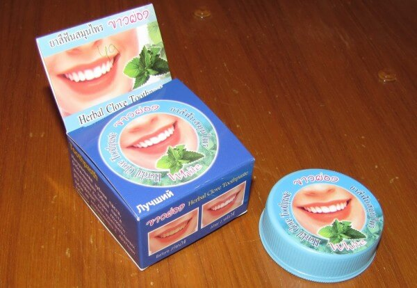 тонізуючі компоненти зубної пасти
