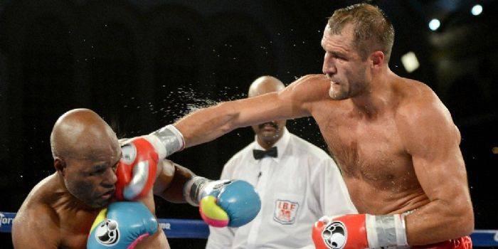 Удар в обличчя в боксі