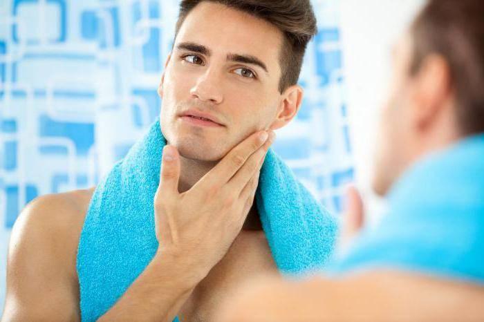 догляд за шкірою обличчя чоловіків