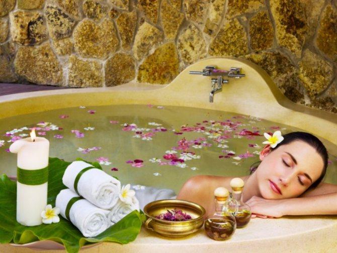 Ванна з маслом пачулі - приємна і корисна процедура