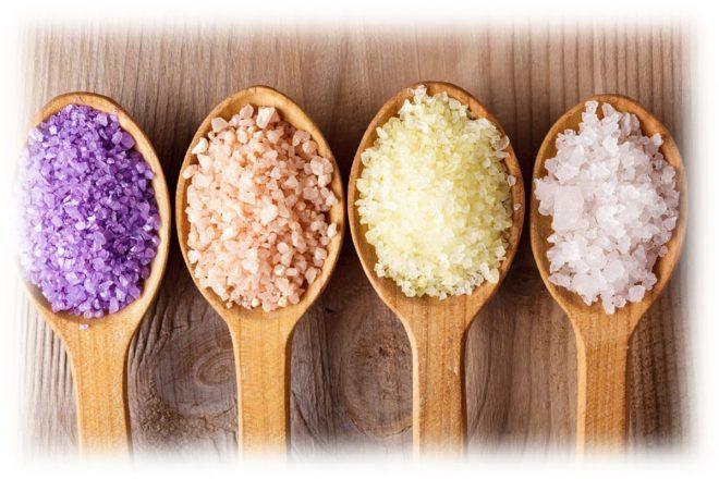 види солі для процедури