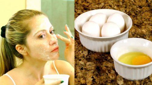 яєчна маска на обличчя