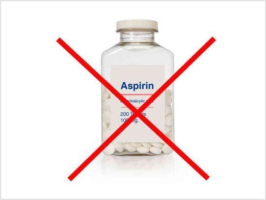 Заборона на аспірин