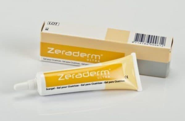 Zeraderm крем від шрамів на обличчі після лазера