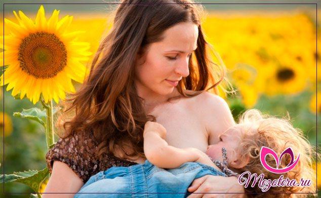 жінка і грудної малюк