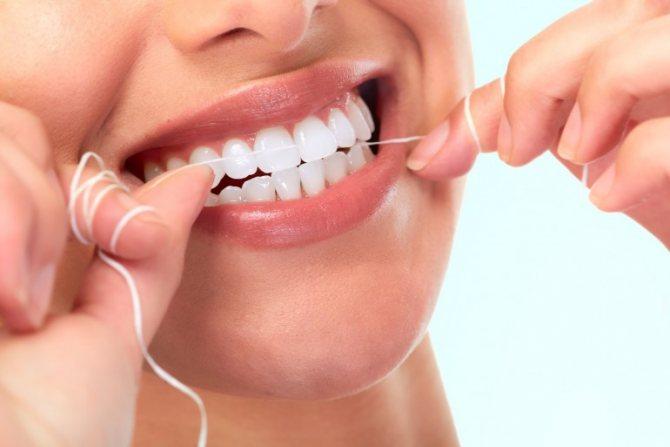 Зубна нитка