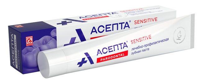 зубна паста асепта