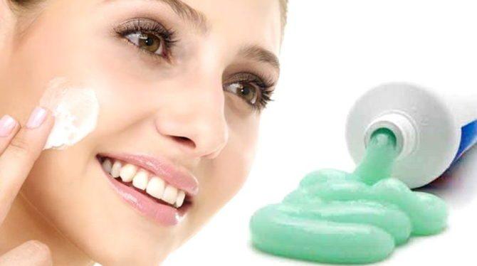 Зубна паста від прищів