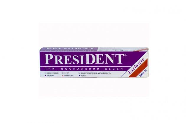 Зубна паста PresiDENT Exclusive