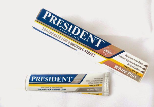 Зубна паста Президент White Plus